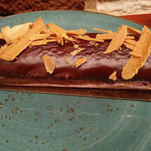 Chocolate and Caramel Eclair