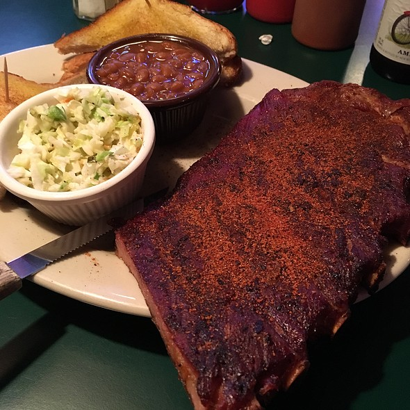 Dry Rubbed Ribs @ Bar-B-Q Shop Restaurant