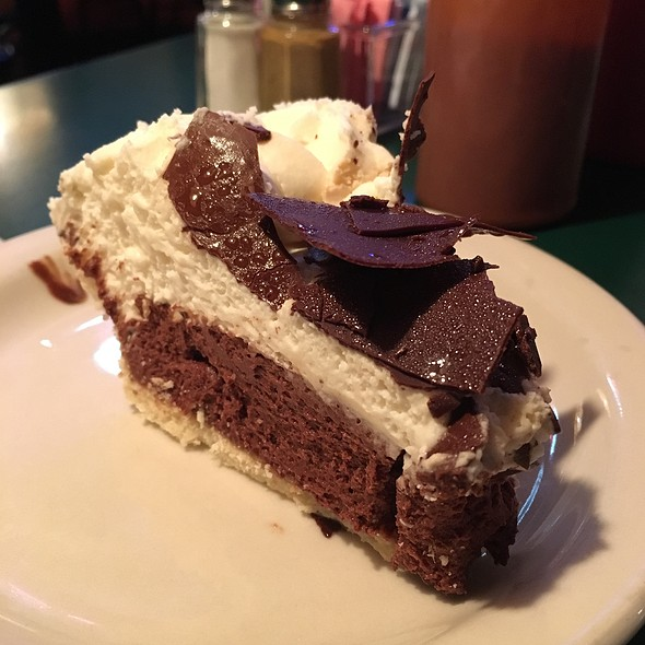 Chocolate Silk Pie @ Bar-B-Q Shop Restaurant