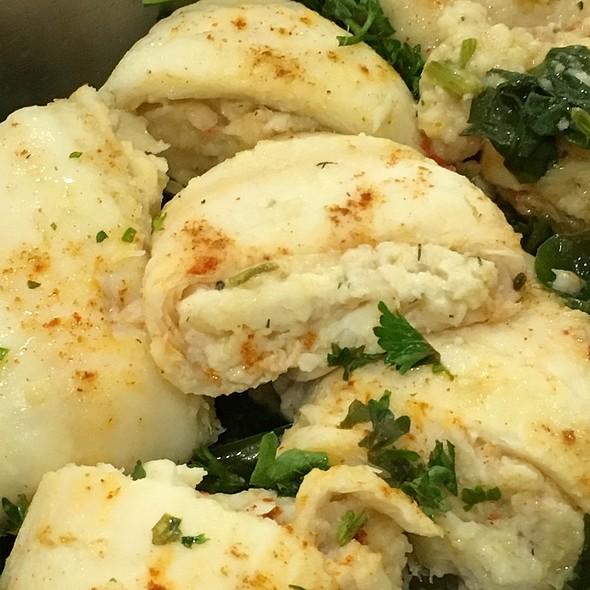Sole Stuffed Shrimp @ Work
