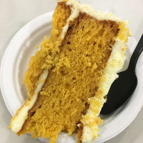 orange and carrot cake @ Work