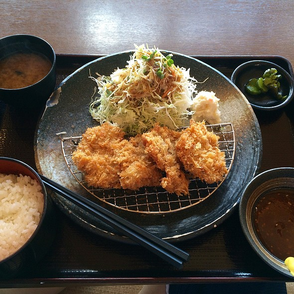 Pork Cutlet Plate @ ねや寿