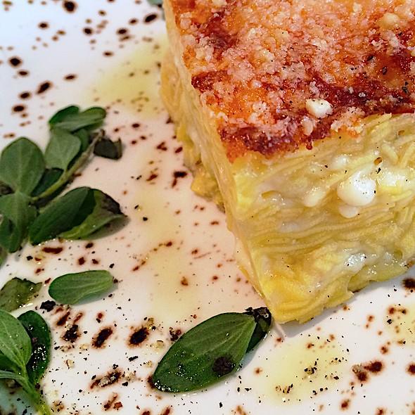 Pasta Al Forno Ai Formaggi Ed Alle Erbette Aromatiche @ Ratanà