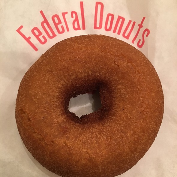 Honey glazed donut @ Federal Donuts