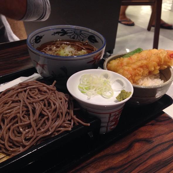 Shrimp Tempura Soba  @ Narita Airport, Japan