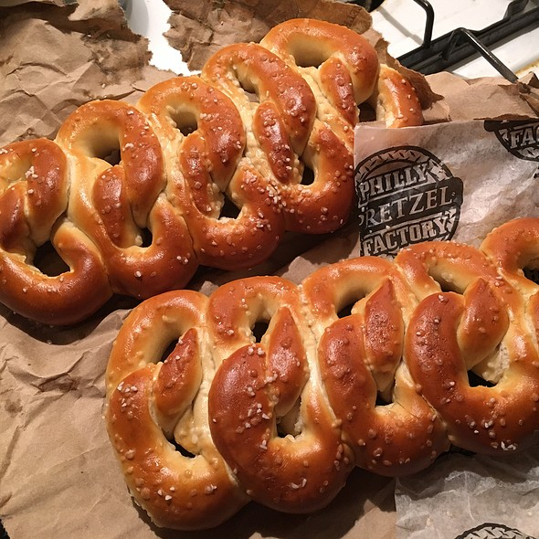 Pretzels @ Phila Soft Pretzel Factory Inc