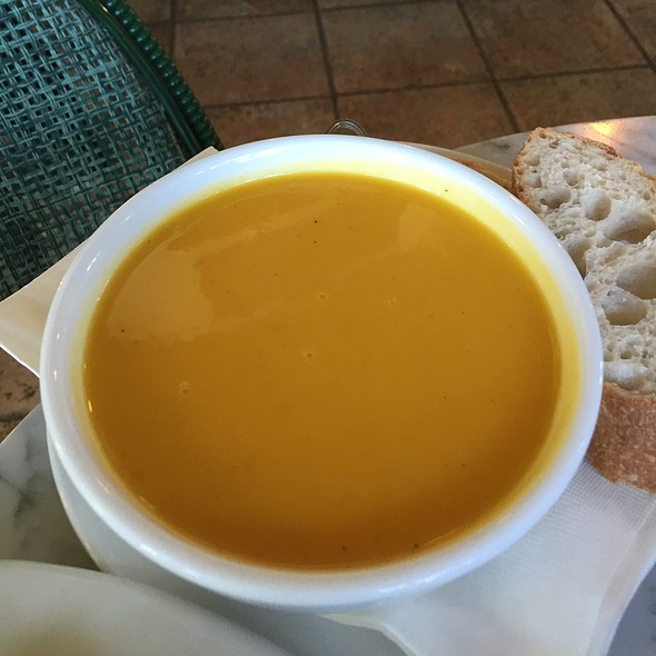 Butternut Squash Soup @ Lakeside Cafe