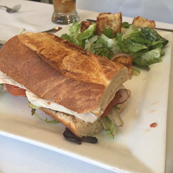 Turkey Sandwich & Caesar Salad - Duval's Fresh. Local. Seafood., Sarasota, FL