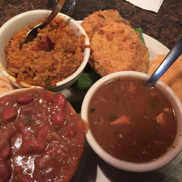 New Orleans Platter @ Daisy Duke's Restaurant