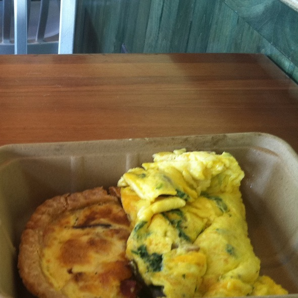 Quiche And Omellete @ Whole Foods Market - Kirby