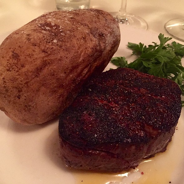 Filet Mignon And Baked Potato - Tony's of Cincinnati, Cincinnati, OH