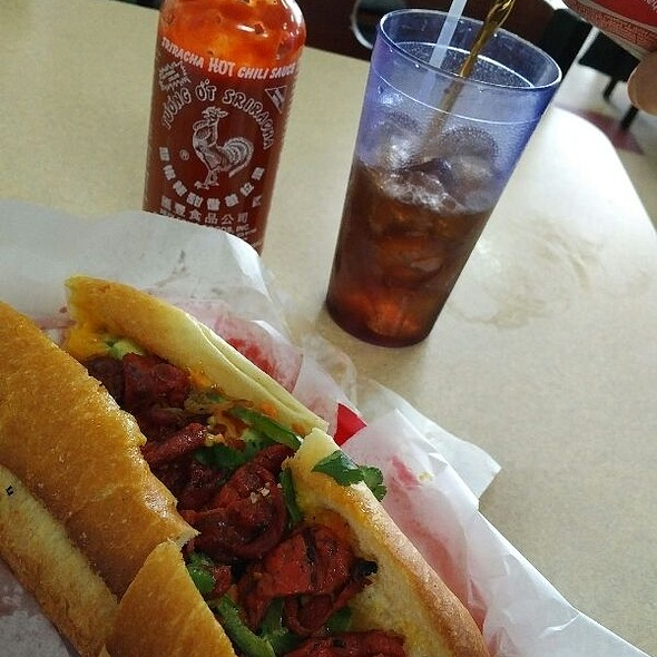 BBQ Pork Bahn Mi @ Quoc Huong Banh Mi Fast Food
