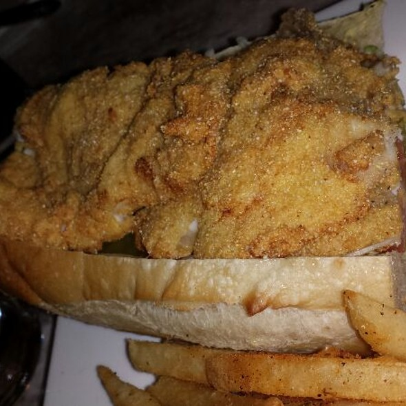Catfish Poboy - Marsha Brown, New Hope, PA