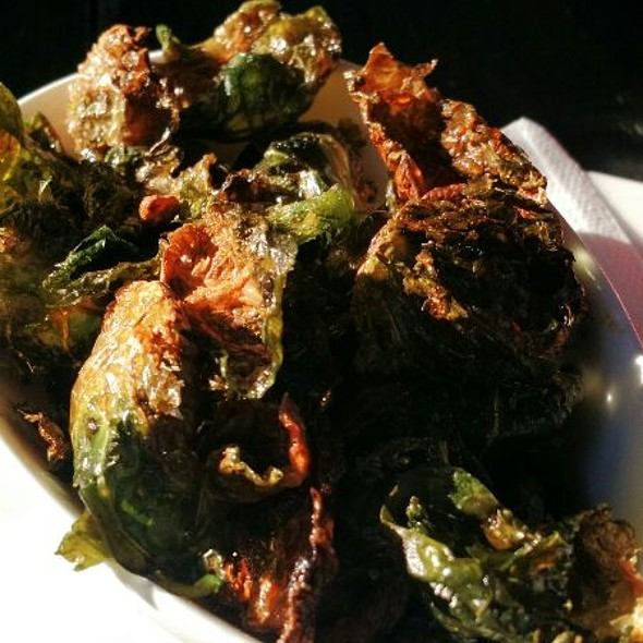 Brussels Sprouts @ Haute Enchilada Cafe