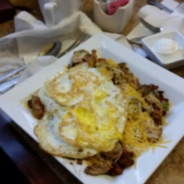 Mexican Skillet With Two Eggs @ Krave Restaurant