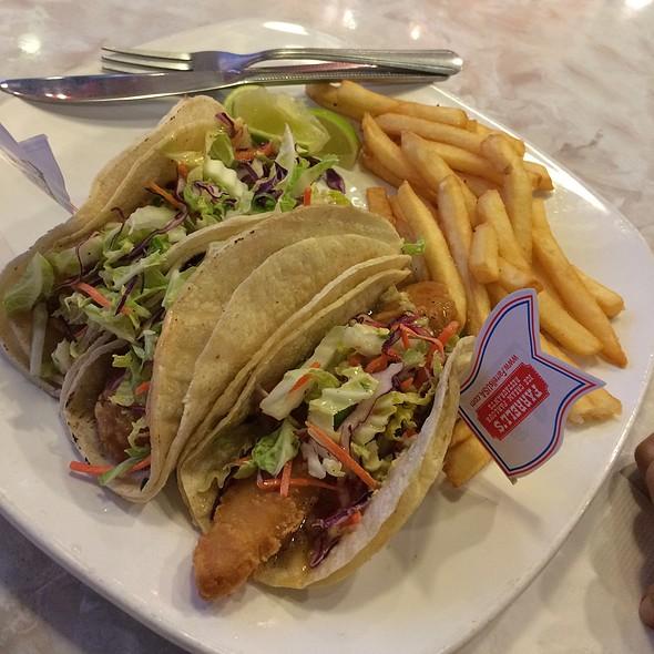 Farrell 39 s ice cream parlour menu brea ca foodspotting for Baja fish tacos menu