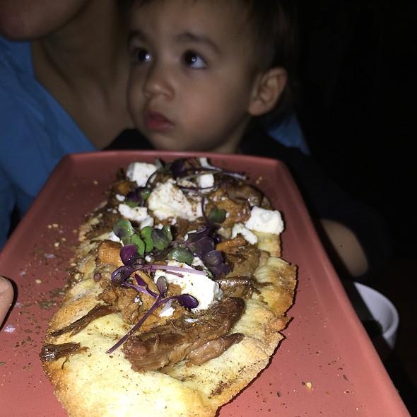 Braised Lamb And Mushroom Flatbread @ Adalya