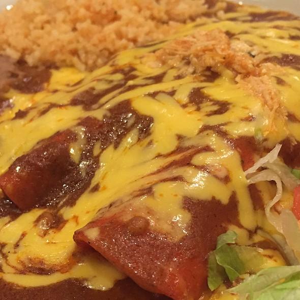 Chicken Enchilada @ Girabaldis restaurant