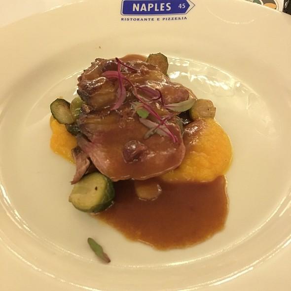 Black Pepper Duck Breast - Naples 45 Ristorante E Pizzeria, New York, NY