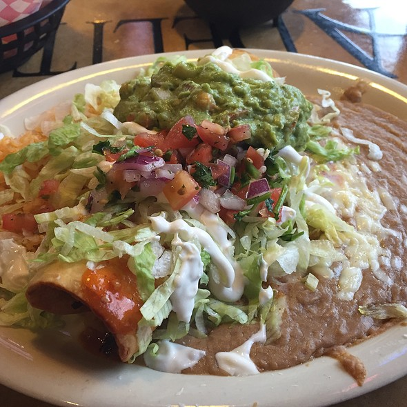 Chicken Chimichanga @ Adelitas Mexican Grill