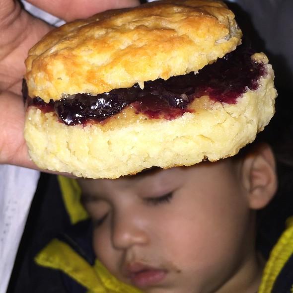 Peanut Butter & Grape Jam Biscuit @ Empire Biscuit