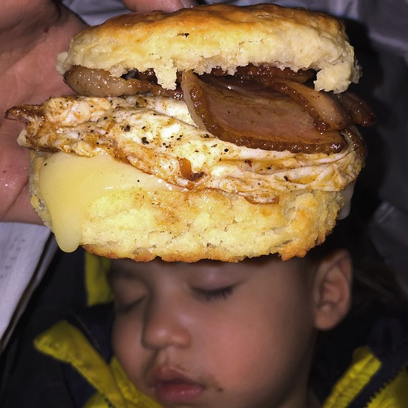 Benton Bacon Egg And Cheese Biscuit @ Empire Biscuit