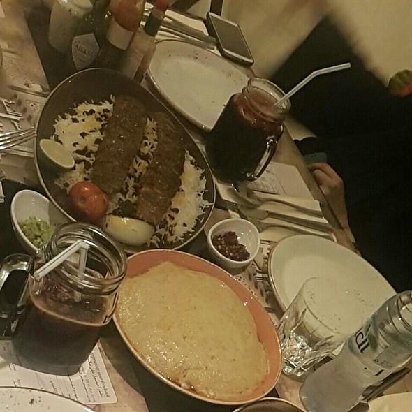 Lamb Harees/ Vimto Slush/ Kebab Plate