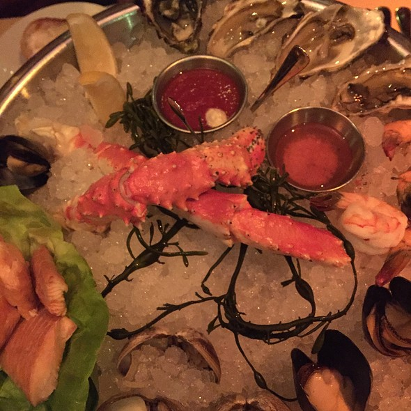 Seafood Platter - RingSide Fish House - Fox Tower, Portland, OR