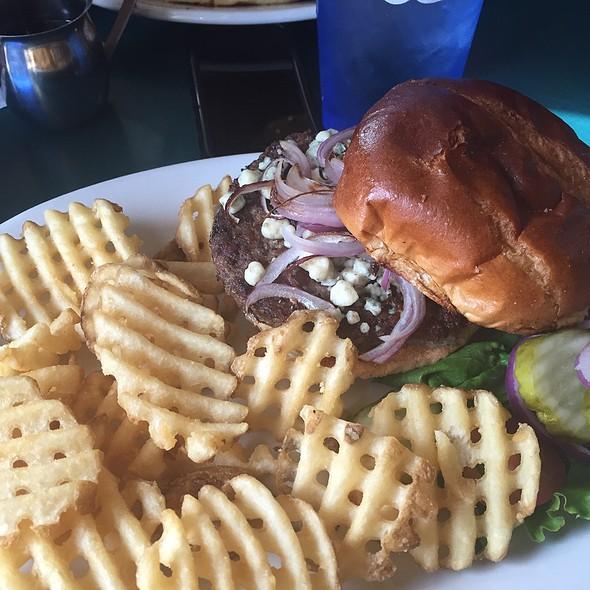 Bacon Bluecheeseburger @ Riley's Cafe