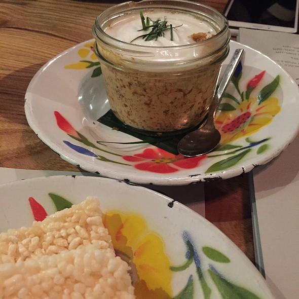 Mushroom Hor Mok Terrine @ Kin Khao