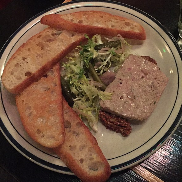 Pork Country Paté @ Cafe Du Nord