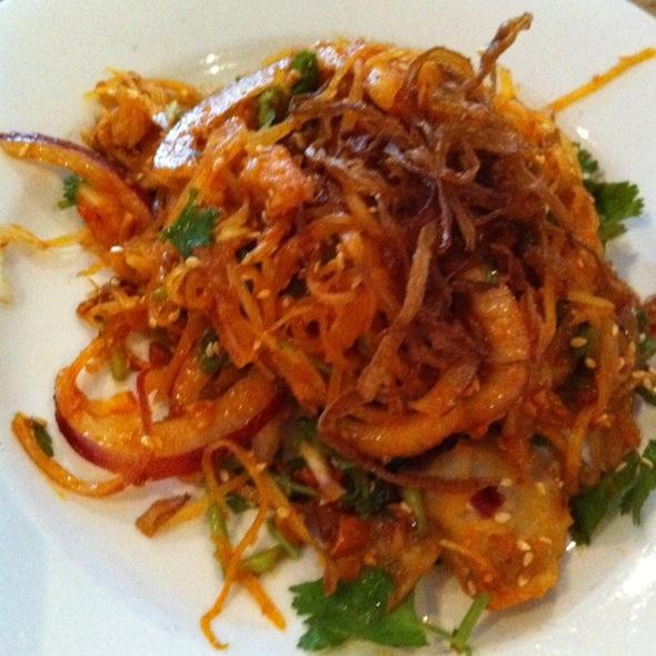 Papaya Salad @ Rangoon Burmese Restaurant