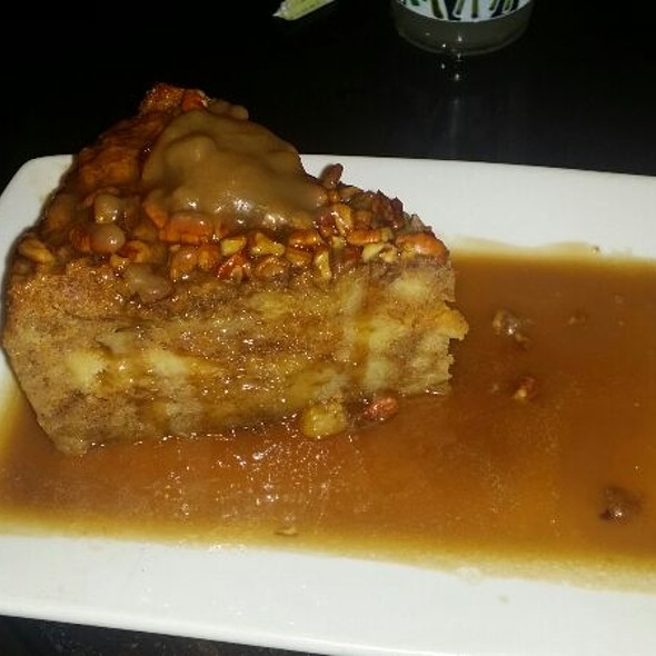 Sweet Potato Bread Pudding With Praline Sauce