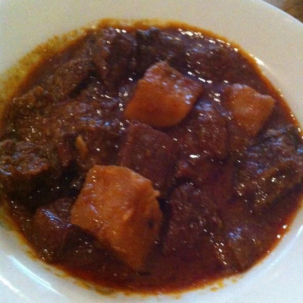 Lemongrass Beef @ Rangoon Burmese Restaurant