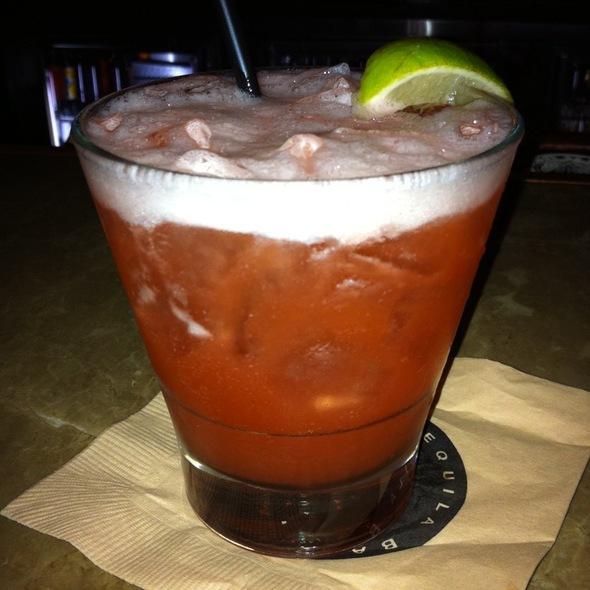 Cucumber Strawberry Margarita @ Geronimo
