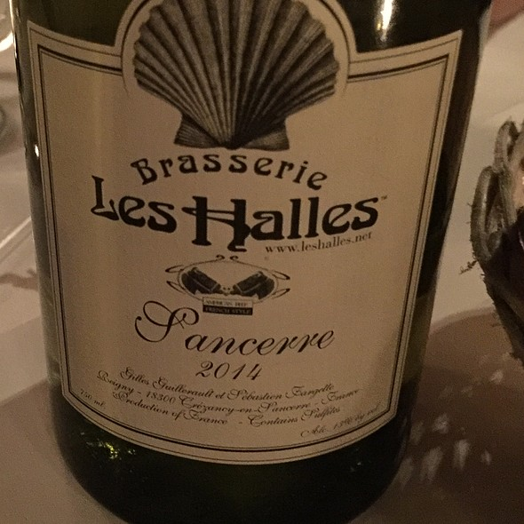 Sancerre wine @ Les Halles