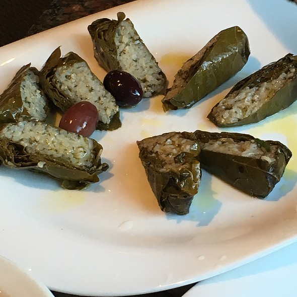 Grape-Leaves Dolmades