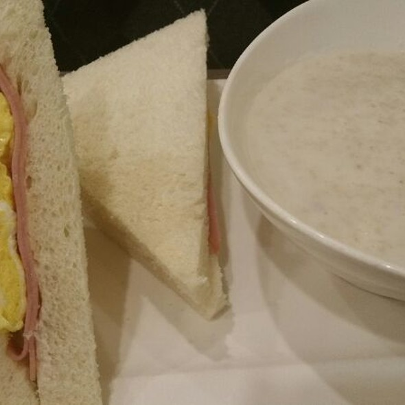 Ham & Egg Sandwich & Oatmeal @ Tasty Delight Fusion Cuisine