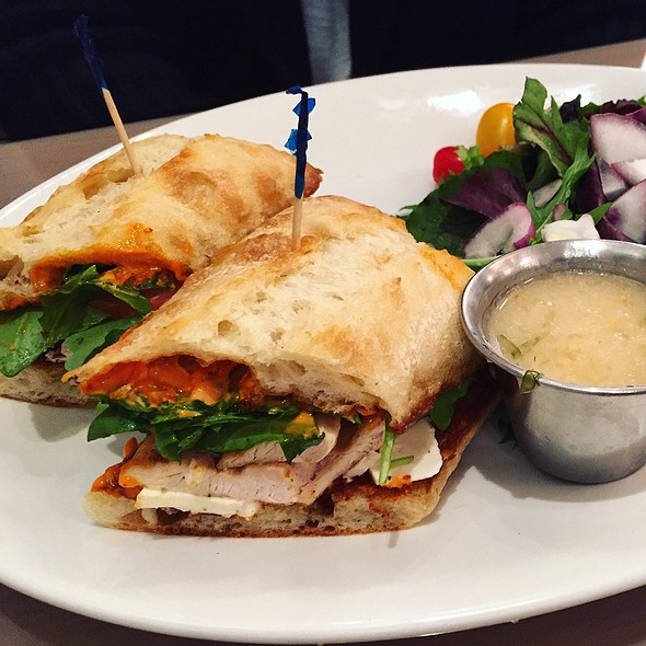 Grilled Chicken Sandwich - The Cottage Chestnut Hill, Chestnut Hill, MA
