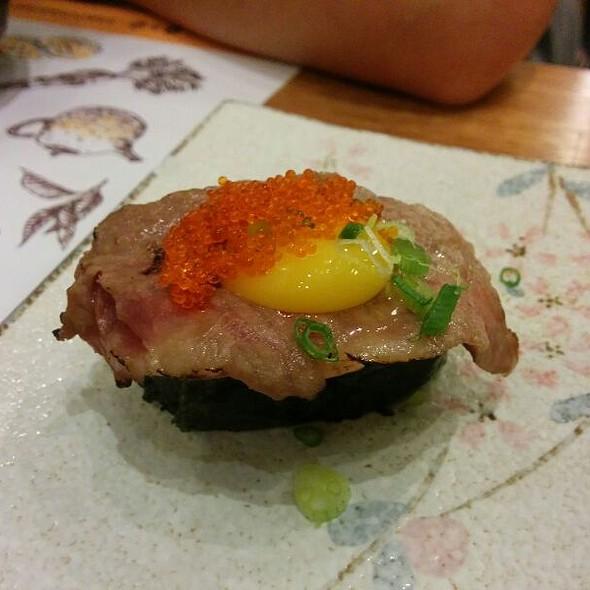Matsusaka sukiyaki gunkan