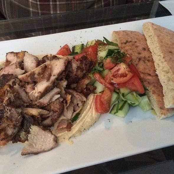 Chicken Shawerma & Hummus Platter @ Desert Rose