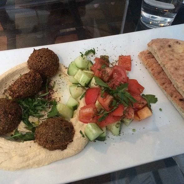 Hummus & Falafel Platter @ Desert Rose