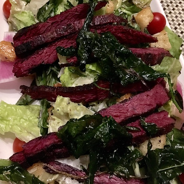 Pipikaula Skirt Steak Grilled Caesar Salad @ Trace