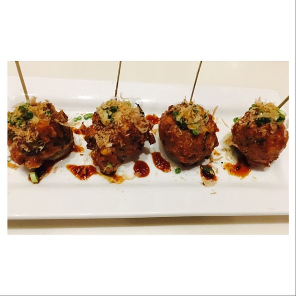 Smoked Octopus Fritters @ Trace