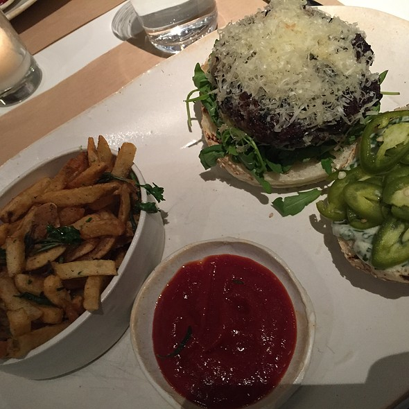Veggie Burger @ ABC Kitchen