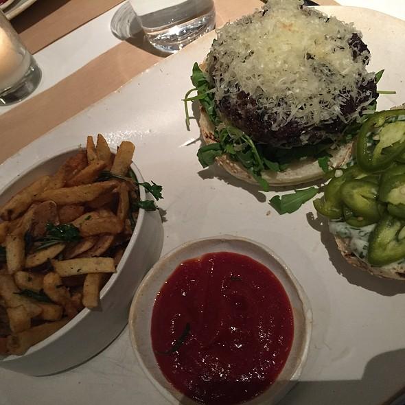 Veggie Burger @ ABC Kitchen