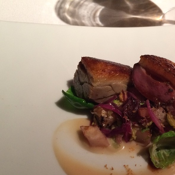 Duck Breast & Confit, Brussels Sprouts Hazelnuts And Quince @ Gramercy Tavern
