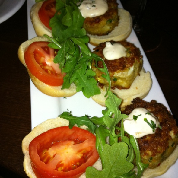 Crabcake Sliders