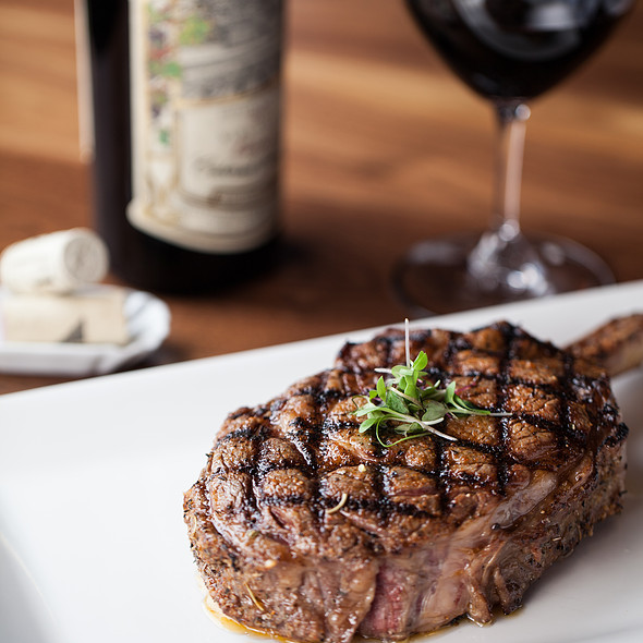 USDA Prime 22oz Bone-in Ribeye  - Spencer's For Steaks and Chops, Salt Lake City, UT