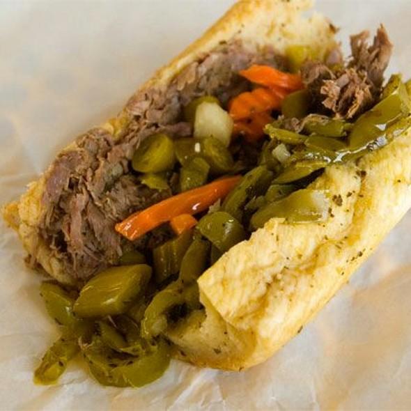 Italian Beef Sandwich - The Edison, Fort Myers, FL